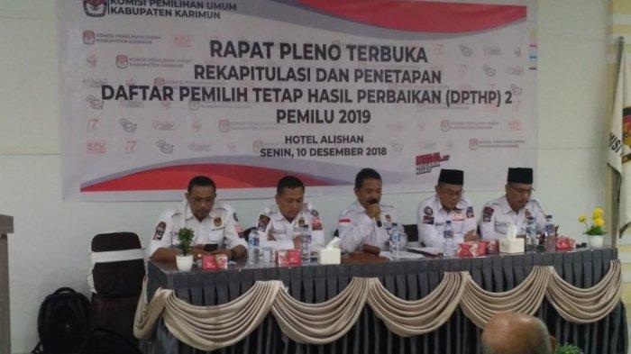72 Orang Gila Masuk Daftar Pemilih Tetap Pemilu 2019. Cara Coblos? Ini Kata KPU Karimun