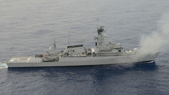 Halangi Penangkapan Kapal Ikan, Kapal Perang TNI Beri Tembakan Peringatan 2 Kapal Pemerintah Vietnam