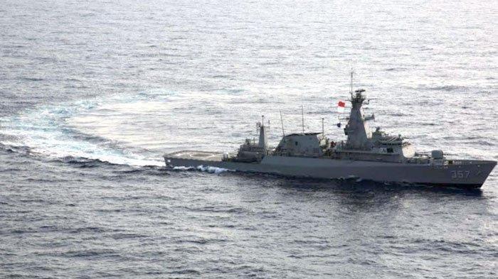 Lakukan Manuver Berbahaya, Kapal Vietnam Gertak Kapal Perang TNI AL Saat Tangkap 4 Kapal di Natuna