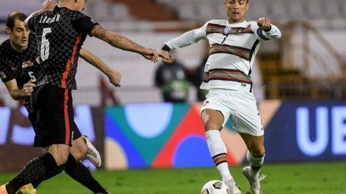 Hasil UEFA Nations League - Portugal Bungkam Kroasia 3-2, Cristiano Ronaldo Ditekel Keras