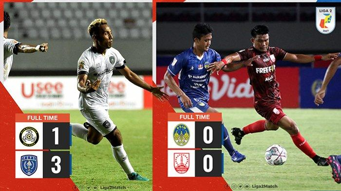 Hasil, Klasemen, Top Skor Liga 2 2021 Setelah PSPS Menang, Persis Solo Imbang, Rans Imbang