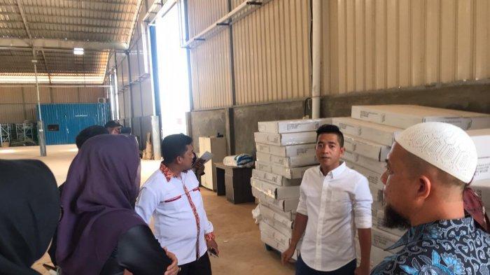 Komisi II DPRD Bintan saat sidak di PT MIPI di Galang Batang, Kecamatan Gunung Kijang, Bintan.