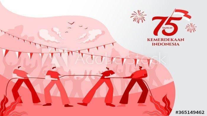 Kumpulan Gambar Bergerak atau GIF untuk Ucapan HUT Kemerdekaan RI 75, Tinggal Unggah dan Simpan