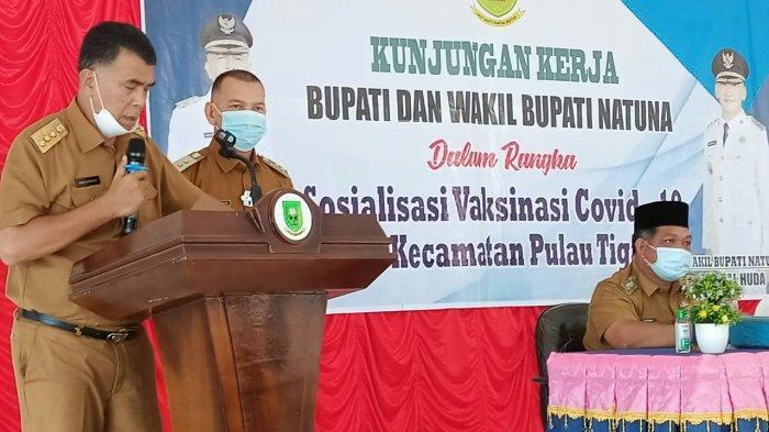 Wan Siswandi Rodhial Huda Kunjungi 2 Kecamatan Serukan Pentingnya Vaksinasi Corona