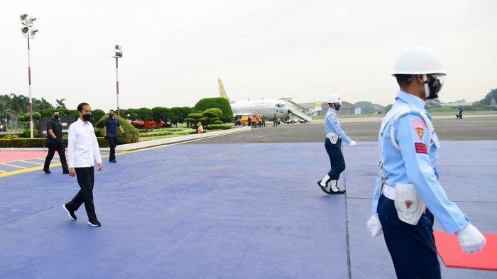 Datang ke Kepri, Presiden Jokowi Lebih Dulu ke Riau Pantau Pembangunan Tol Trans-Sumatera