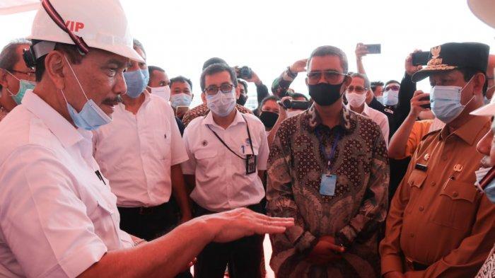 Nilai Investasi PT BAI Tembus 5 Miliar Dollar, Luhut Minta Tenaga Kerja Lokal Bersiap