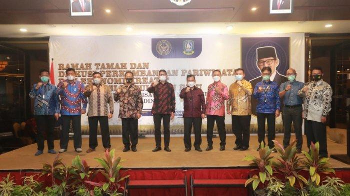 Kunjungan Menparekraf Sandiaga Uno ke Kepri, Sabtu (24/1).
