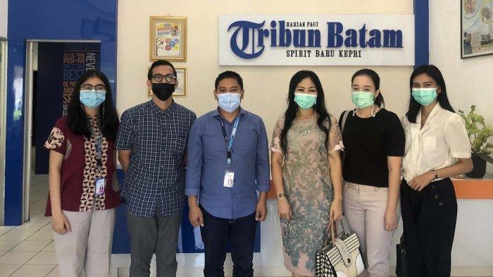 Kunjungan Miracle Aesthetic Clinic ke Tribun Batam, Siapkan Kegiatan Sambut Ramadhan