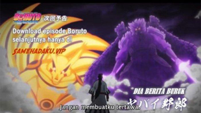 Link Nonton Boruto Episode 204 Sub Indo Tayang Minggu (20/6), Kurama dan Susano'o vs Jigen