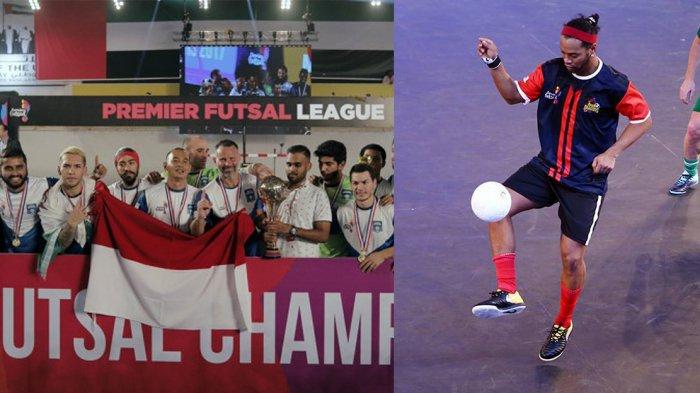 Juara Usai Bantai Tim Ronaldinho, Kurniawan Dwi Yulianto Kibarkan Bendera Indonesia di India
