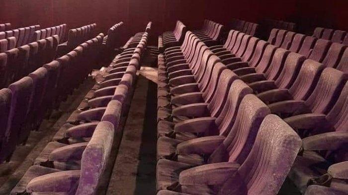 Viral Penampakan Foto Kursi Bioskop Berjamur, Setelah 2 Bulan Malaysia Lakuka Lockdown