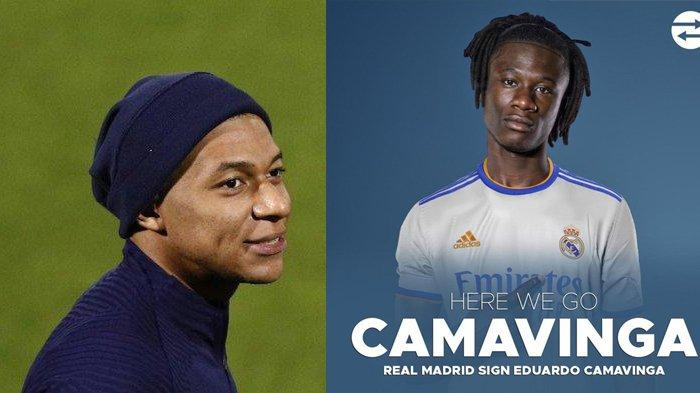 Transfer Real Madrid - Kylian Mbappe Gagal, Real Madrid Dapatkan Eduardo Camavinga
