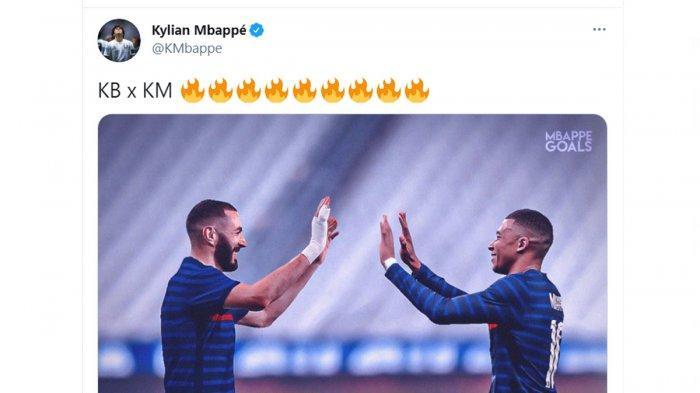 Daftar Nama 26 Pemain Timnas Prancis untuk Euro 2020, Mbappe Tak Sabar Ingin Main Bareng Benzema