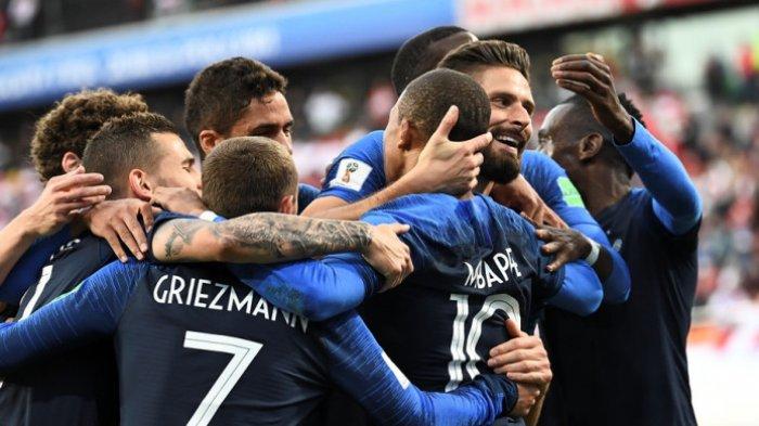 Gol Tunggal Mbappe Bawa Prancis Lolos ke Babak 16 Besar, Peru Tersingkir