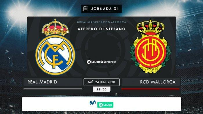Jadwal Liga Spanyol Malam Ini Real Madrid vs Mallorca Pukul 03.00 WIB, Kudeta Lagi Puncak Klasemen?