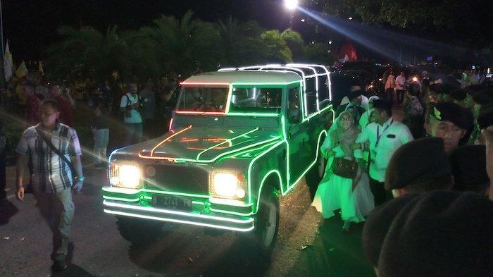 Mobil Land Rover Dinaiki Jokowi-Maruf, Briefing Paspampres agar Tidak Mogok