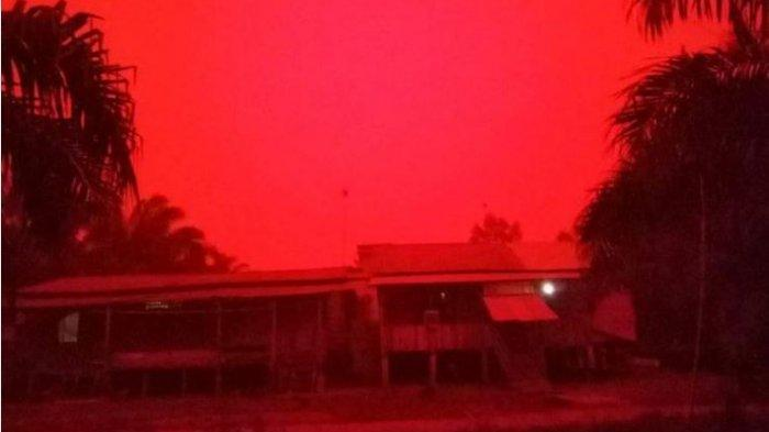Red Sky In Jambi Known As The 'Rayleigh Scattering', Here's the Explanation