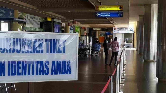 Hari Pertama Larangan Mudik di Batam, Bandara Hang Nadim Hanya 2 Pesawat Beroperasi