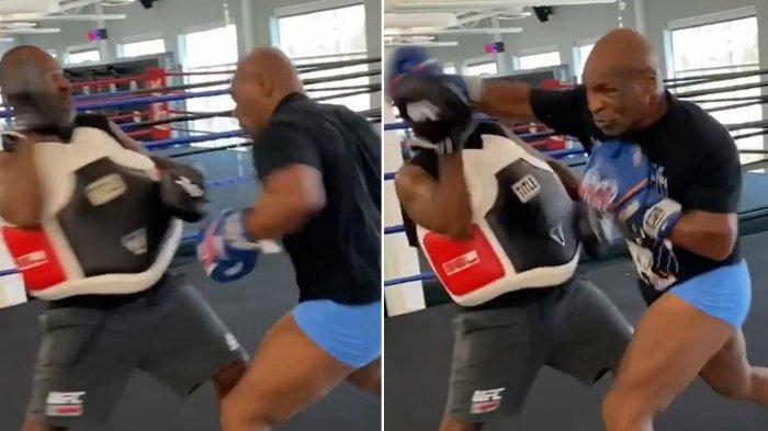 Mike Tyson Hancurkan Gigi Lawan Sparring, Si Leher Beton Jawab Keraguan Publik Jelang Duel Roy Jones