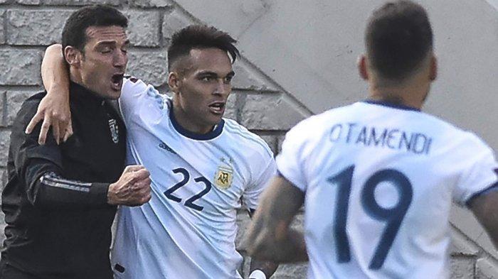 Hasil Bolivia vs Argentina, Setelah 15 Tahun Akhirnya Argentina Menang di La Paz, Lautaro 1 Gol