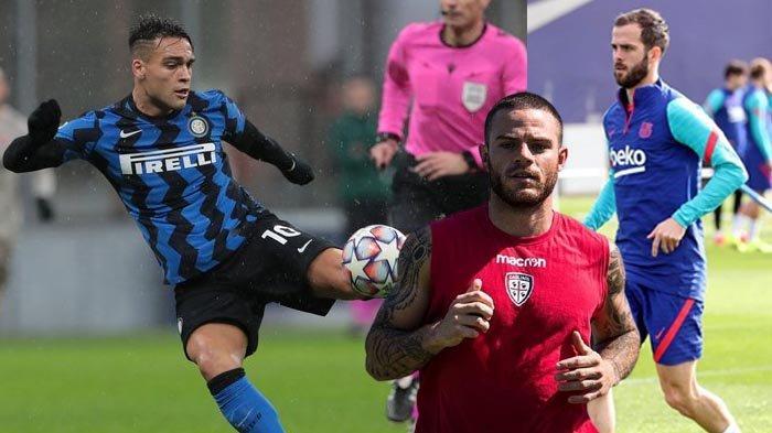 Transfer Inter Milan - Harga Lautaro Martinez €90 Juta, Nahitan Nandez Masih Nego, Pjanic Alternatif