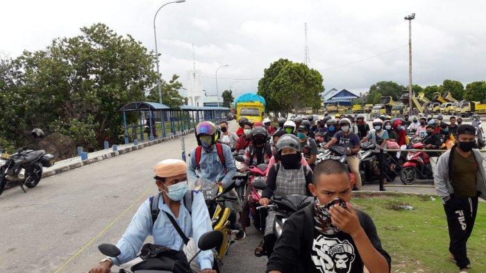 Kesehatan Penumpang Tak Dicek Saat Seberang dari Pulau Karimun Besar ke Pulau Kundur