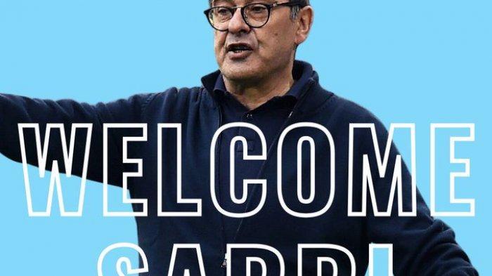 Lazio Resmi Tunjuk Maurizio Sarri jadi Pelatih Baru, Gantikan Simone Inzaghi ke Inter Milan