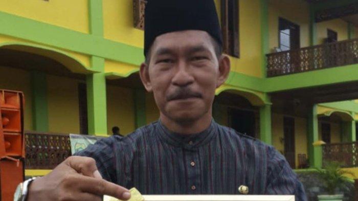 Foto Pemerhati Sejarah dan Kebudayaan Lingga, Lazuardy Usman.