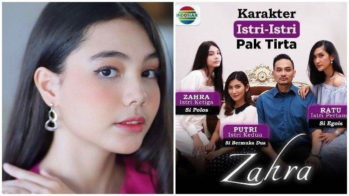 Biodata Lea Ciarachel, Pemeran Zahra Istri Ketiga di Suara Hati Istri Indosiar, Masih 15 Tahun