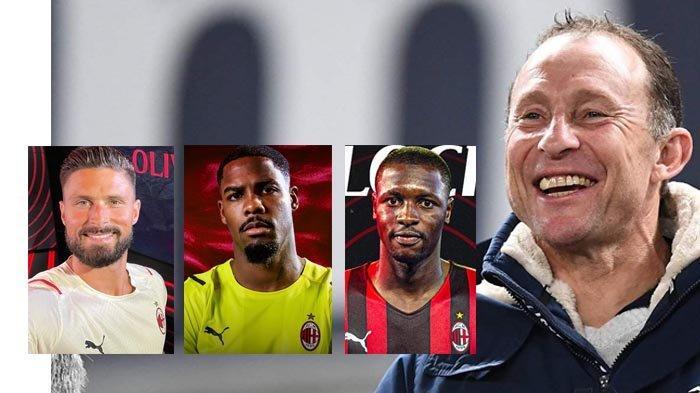Berita AC Milan - Wawancara Legenda Milan Jean-Pierre Papin Soal Olivier Giroud, Mike Maignan