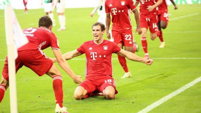 Hasil Bundesliga - Tekuk Monchengladbach 2-1, Gol Leon Goretzka Selamatkan Munchen dari Kekalahan