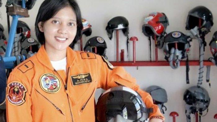 Inilah Ajeng Tresna Dwi Wijayanti, Pilot Pesawat Tempur Perempuan Pertama dari TNI AU
