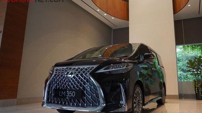 Kemewahan Lexus LM 350 yang Tidak Dimiliki Toyota Alphard
