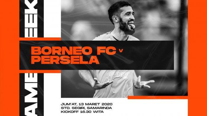 Jadwal Liga 1 2020 Pekan ke-3 Hari Ini: Borneo FC vs Persela Sore, Persebaya vs Persipura 18.30 WIB