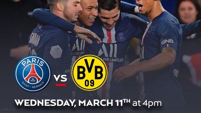 Link Live Streaming Liga Champions Hari Ini, PSG vs Dortmund, Liverpool vs Atletico Madrid Live SCTV