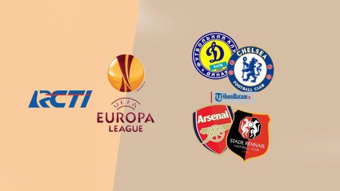 Jadwal Liga Europa Malam Ini Dynamo Kyiv vs Chelsea, Arsenal vs Rennes Live RCTI