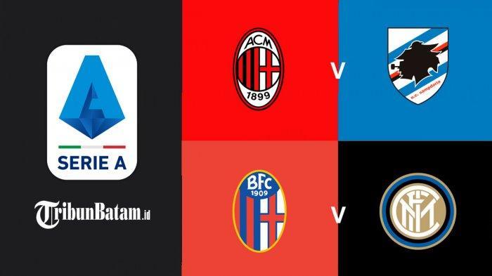 Jadwal Liga Italia Pekan 29, AC Milanvs Sampdoria, Torino vsJuventus, Bologna vsInter Milan