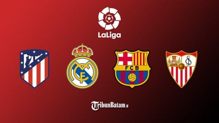 Liga Spanyol Pekan 36 Levante vs Barcelona, Atletico vs Real Sociedad, Granada vs Real Madrid