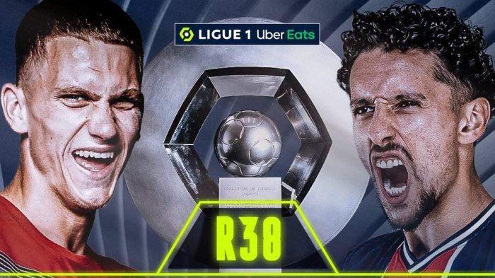Laga Terakhir Ligue 1 Liga Prancis, Laga Penentuan Lille atau PSG Juara Ligue1 2020-2021