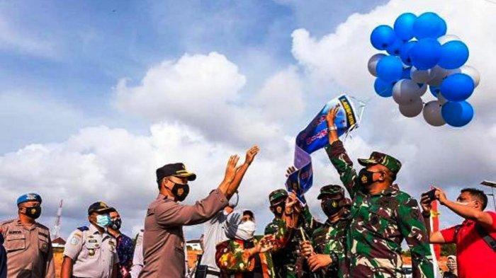 APA Itu Kampung Tangguh, Erat Kaitannya dengan Pandemi Covid-19. Foto Wali kota Tanjungpinang Rahma meresmikan 5 Kampung Tangguh di Kota Tanjungpinang, Sabtu (20/2/2021).