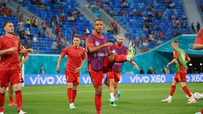 Line Up Belgia vs Rusia di EURO 2020, Kick Off 02.00 WIB, Eden Hazard Dibangku Cadangkan