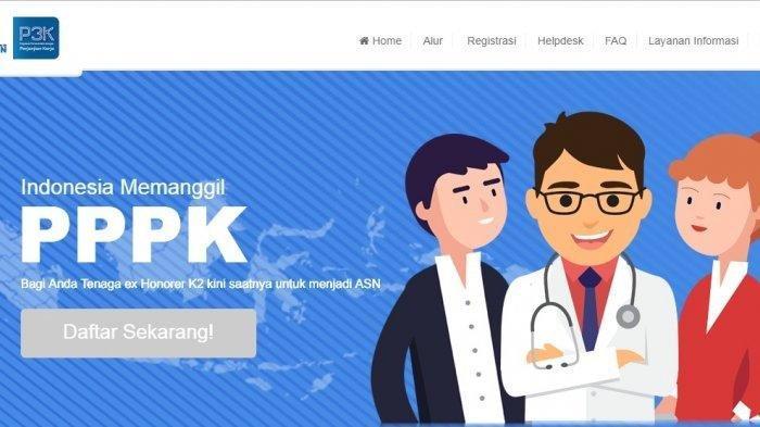 Cara Login sscasn.bkn.go.id dan Tahapan Daftar PPPP 2019, Lengkapi Syaratnya