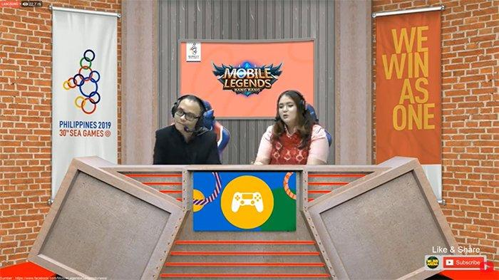 Link Live Streaming Turnamen Esports Mobile Legends SEA Games 2019, Filipina vs Indonesia