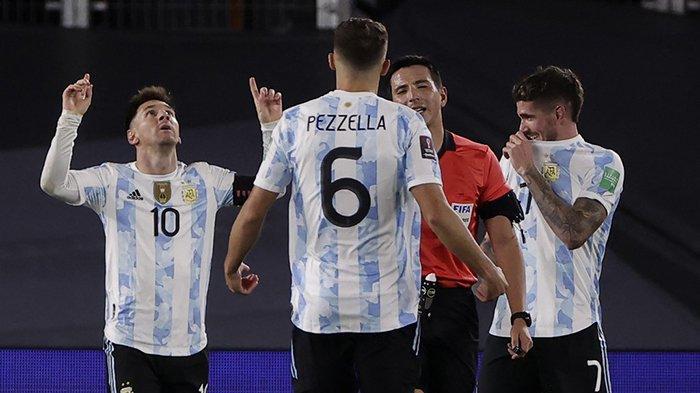 Hasil Argentina vs Bolivia Lionel Messi Hattrick, Argentina Menang 3-0