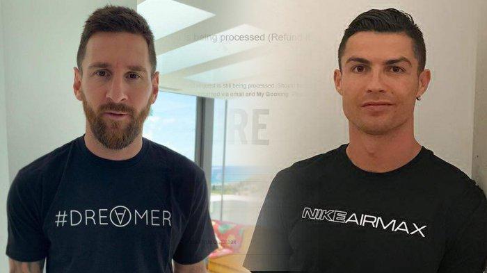 Top 10 Reting Pemain Bola Dunia, Lionel Messi Peringkat Atas, Disusul Cristiano Ronaldo