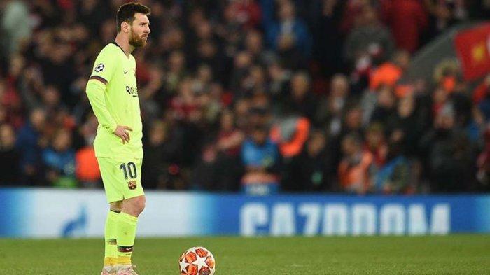 Lionel Messi Menghilang Selama Lawan Liverpool, 2 Statistik Ini Jadi Bukti