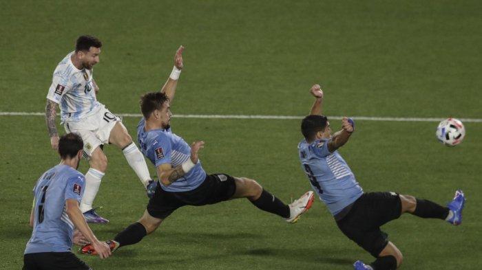 Hasil Argentina vs Uruguay, Lionel Messi & Lautaro Martinez Cetak Gol Argentina Menang