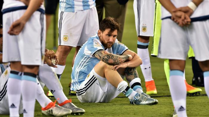 Lionel Messi pun Menangis