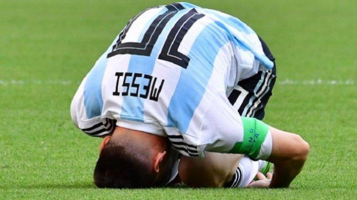 Pelatih Argentina Jorge Sampaoli: Kami Sudah Lakukan Semuanya untuk Layani Messi