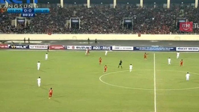 Hasil Indonesia vs Vietnam di Kualifikasi Piala Asia U23 2020, Skor Imbang 0-0 di Babak Pertama